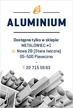 Aluminium - pełen zakres